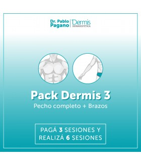 Depilación Definitiva HOMBRE - Pack 3